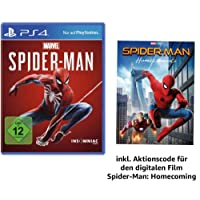 Marvel's Spider Man - Standard Edition - [PlayStation 4] +  Spider-Man Homecoming Film