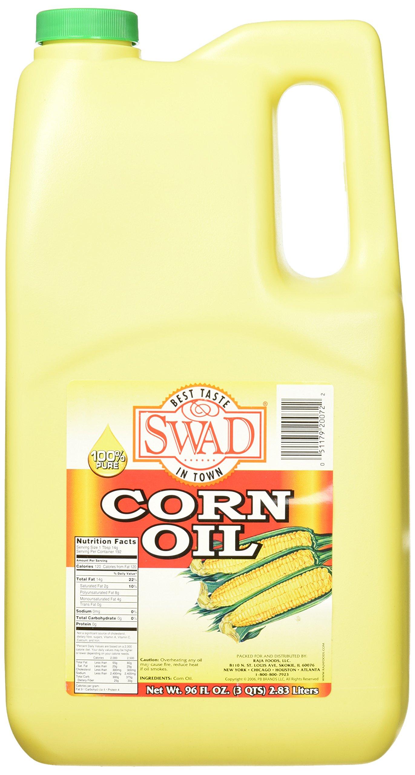 Great Bazaar Swad Corn Oil, 96 Ounce