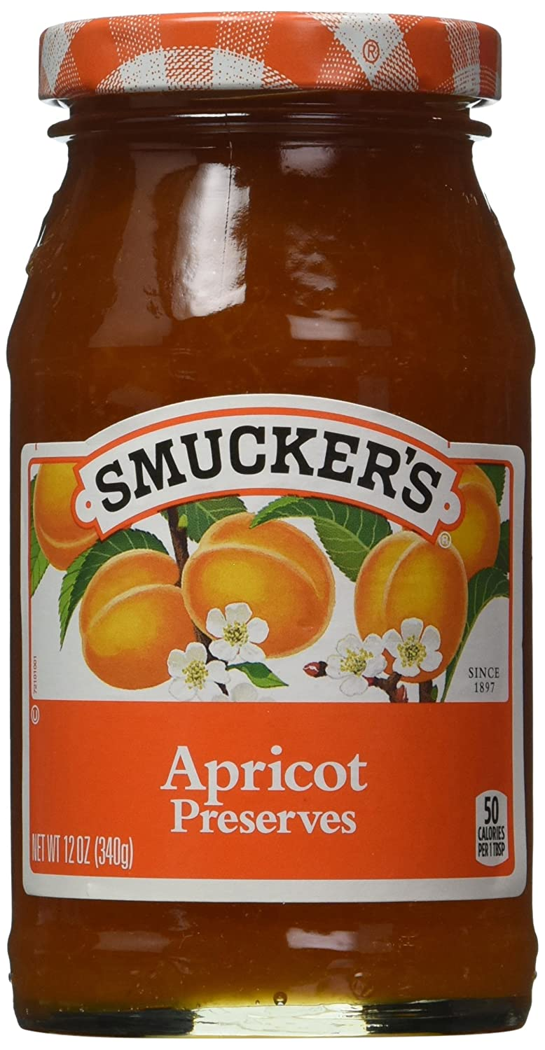 Smucker's Apricot Preserves, 12 Ounces