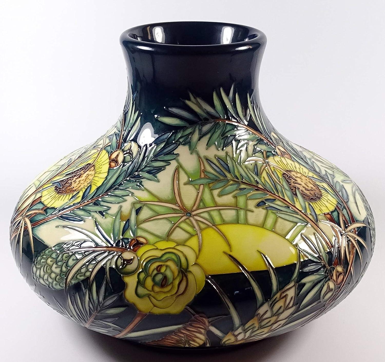 Moorcroft Designer Score Amazon Dawn 32/10 Trial Vase RRP £1630