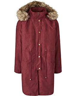 229a7c706c14 JD Williams Womens Waterfall Trench Coat: Amazon.co.uk: Clothing