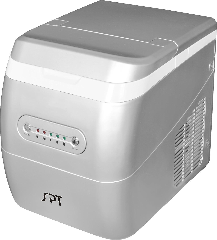 SPT IM-123S Portable Ice Maker (Silver)