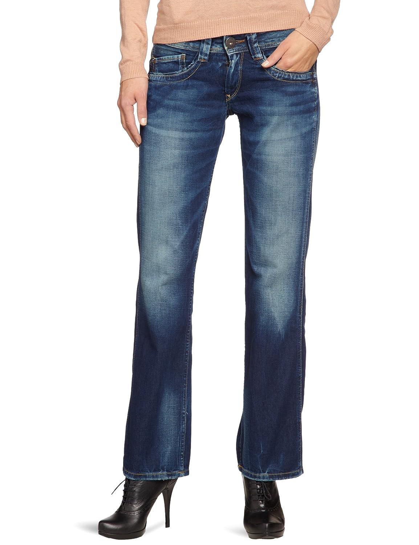 Pepe Jeans Damen Jeans Normaler Bund PL200022B122 Olympia