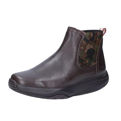 1cbf373c MBT - Botas de Piel para Mujer marrón marrón 36 marrón Size: 38: Amazon.es:  Zapatos y complementos