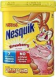 Nestle NESQUIK Strawberry Flavored Powder, 8 oz