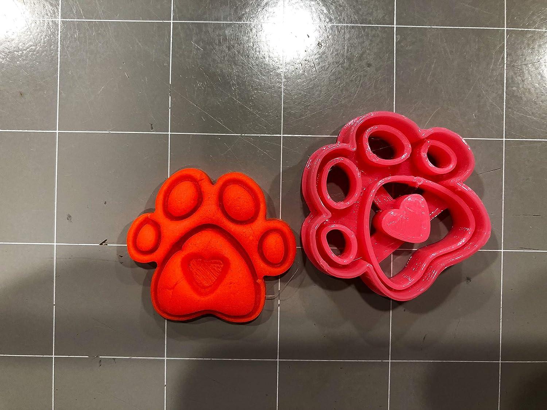 Cookie Cutz Cortador de Galletas con Huella de corazón (tamaño 1,5 ...