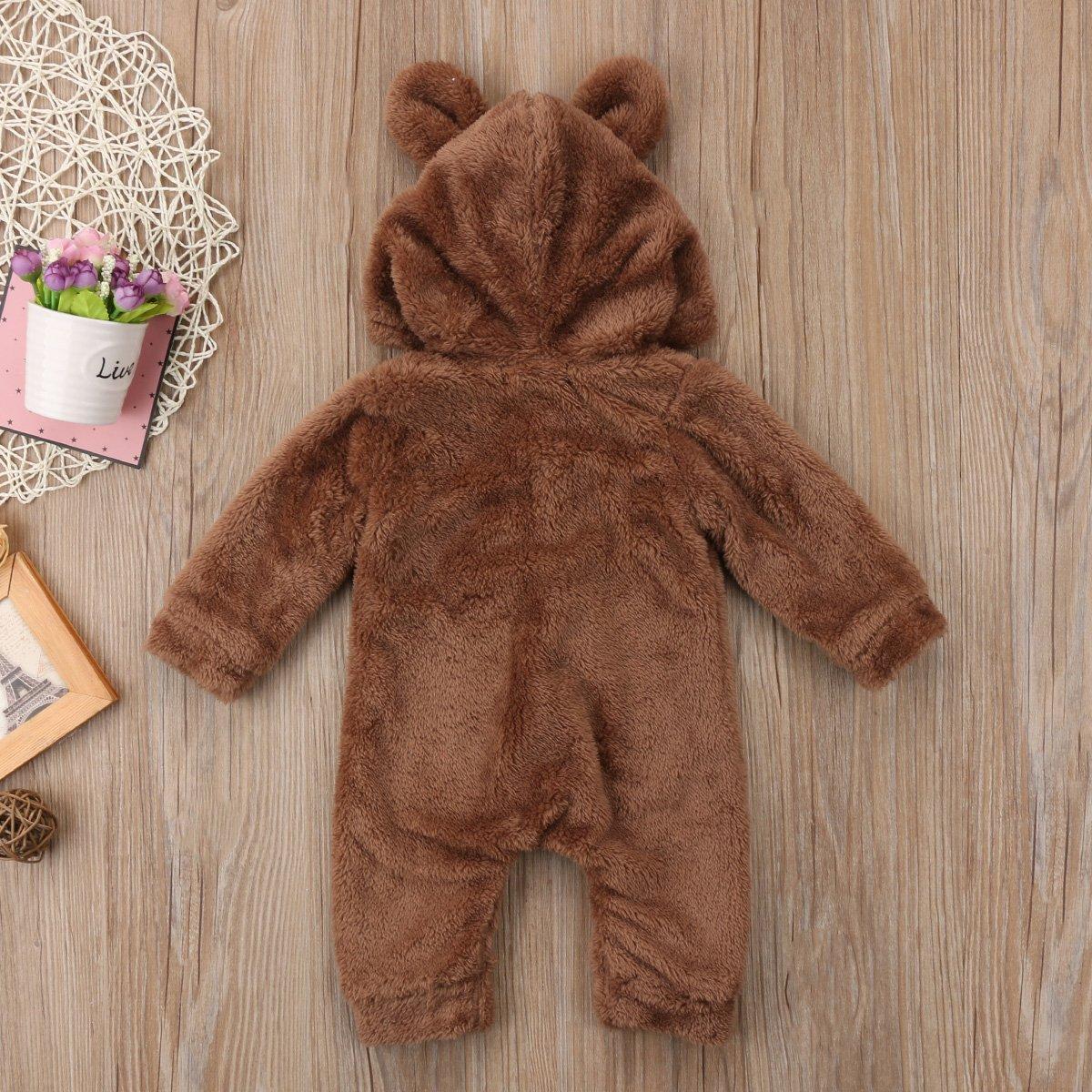26fd91e81693 Amazon.com  Canis Baby Boys Girls Long Sleeve Winter Warm Fleece ...