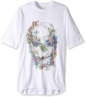 ea5e3237a22 Amazon.com  Sean John Men s Big and Tall Tropical Skull Tee  Clothing