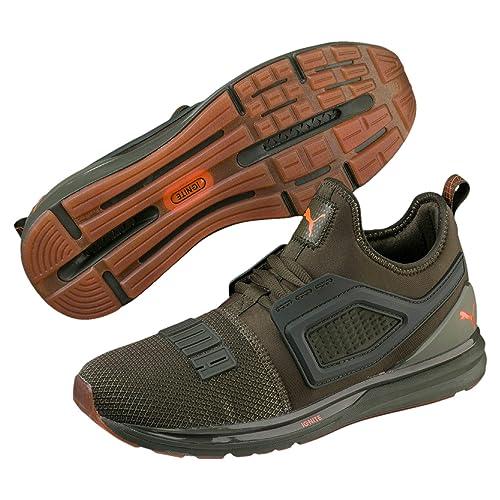 Puma Sneakers Ignite Limitless 2 Unrest Verde Arancio 191295