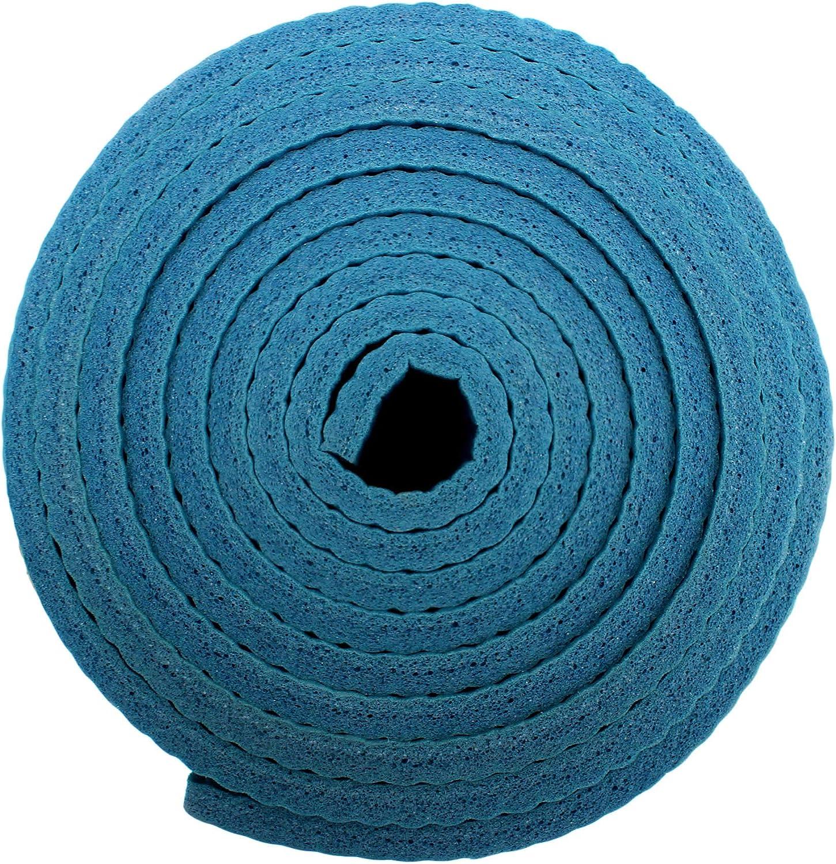 Viavito Leviato - Esterilla de yoga unisex, 6 mm, con correa de transporte, color azul lejano, talla única: Amazon.es: Deportes y aire libre