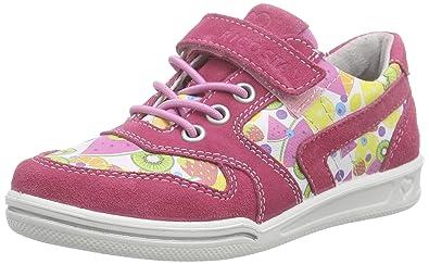 Ricosta Birgit, Mädchen Sneakers, Pink (Bubble/Multi 331), 25 EU