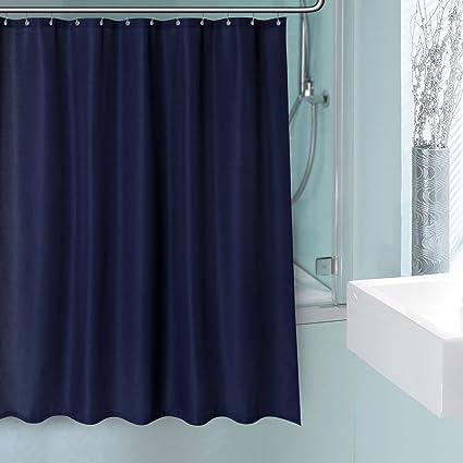 CentralPark Waffle Fabric Shower Curtain