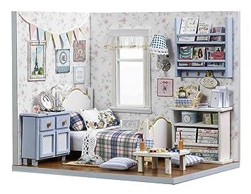 LEMOGO Maison de poupées en Bois Bricolage Handcraft ...
