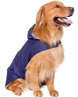 BPS® Chubasqueros Impermeables para Mascotas Perros, Impermeables con…