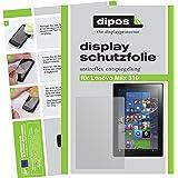 dipos I 2X Schutzfolie matt passend für Lenovo Miix 310 Folie Displayschutzfolie