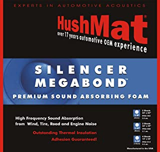 product image for HushMat 20200 Silencer Megabond Foam with Insulating Sheet - 2 Piece