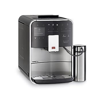 Melitta Barista Smart TS Independiente Máquina espresso 1.8L Negro, Acero inoxidable - Cafetera (