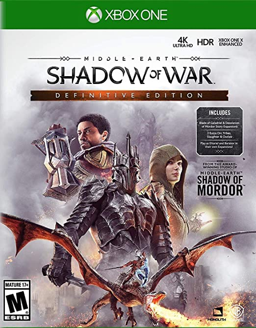 Middle Earth: Shadow of War - Definitive Edition fro Xbox One USA: Amazon.es: Whv Games: Cine y Series TV