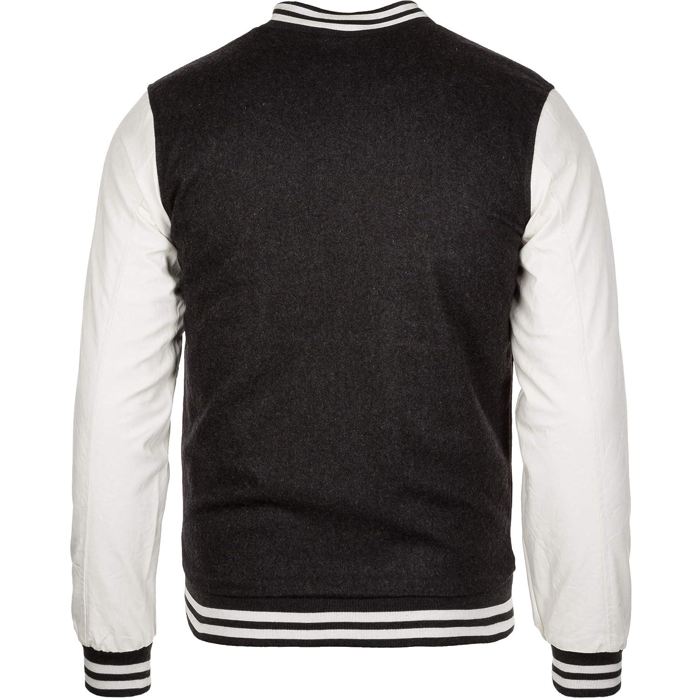 Urban Classics Bekleidung Oldschool College Jacket Chaqueta para Hombre