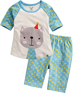 09f8333b Amazon.com: Vaenait baby 12M-7T Kids Girls Summer Sleeveless Pajama ...