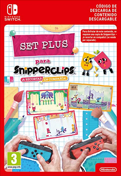 Snipperclips: Cut it out together PlusPack DLC |Switch-Download Code: Amazon.es: Videojuegos