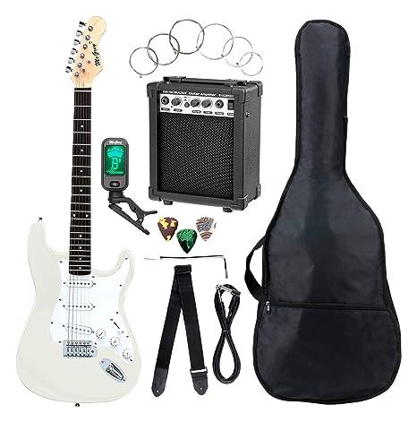 Set completo de guitarra eléctrica ST McGrey Rockit en ...