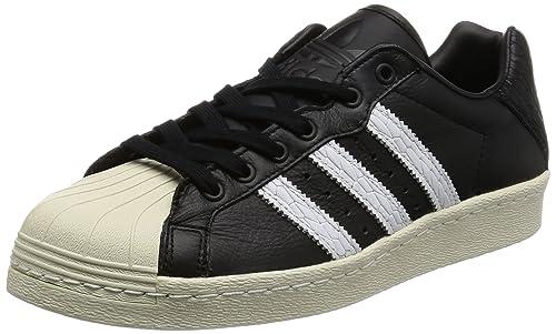 63f3134e81d0a6 adidas Originals Ultrastar 80s Sneaker Black BB0172  Amazon.co.uk ...