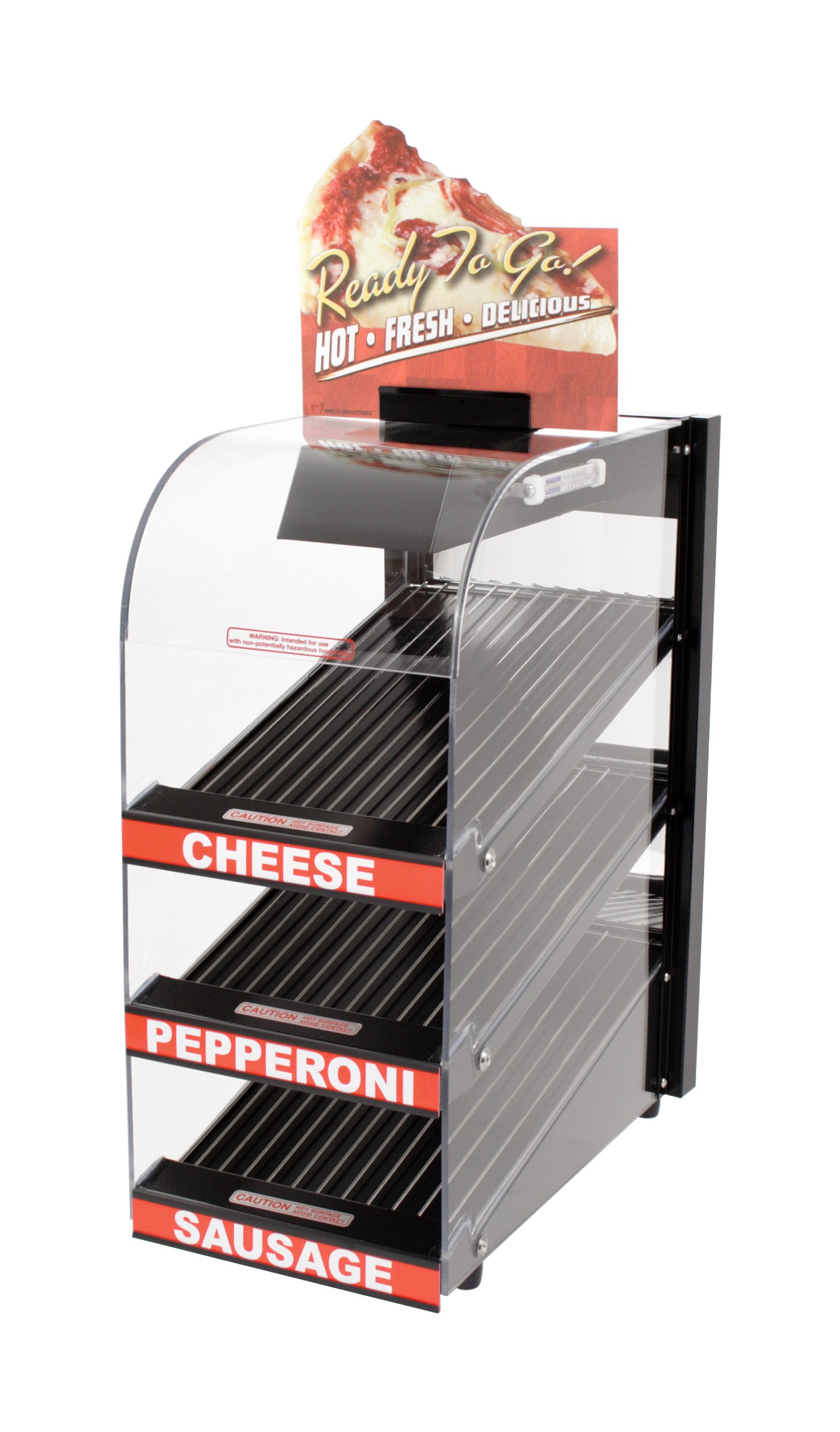 Wisco 787-P Food Warming and Merchandising Cabinet, Pizza Decals
