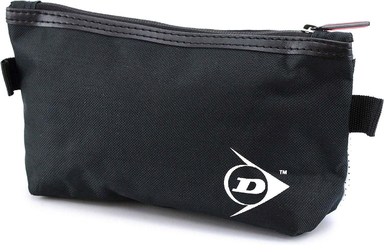 Neceser Estuche portatodo Viaje Dunlop - Bolsas de Aseo Organizador Accesorios de Baño Material Resistente Hombre Personal Vacaciones Viajes de Negocios Color Negro Estilo Moderno 23x13x7 cm: Amazon.es: Equipaje