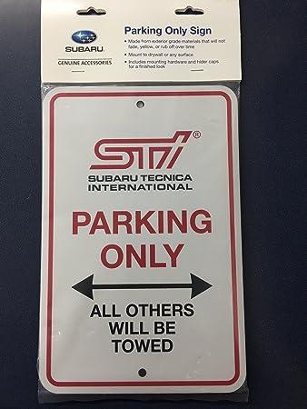 Amazon.com: Letrero de la calle de estacionamiento original ...