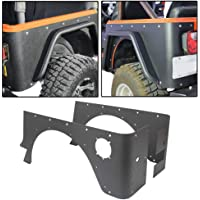 RT-TCZ Front Grill Mesh Grille Insert Kit Honeycomb 3D Design for Jeep Wrangler JK/&Rubicon Sahara /& Unlimited 2007-2017 7PCS