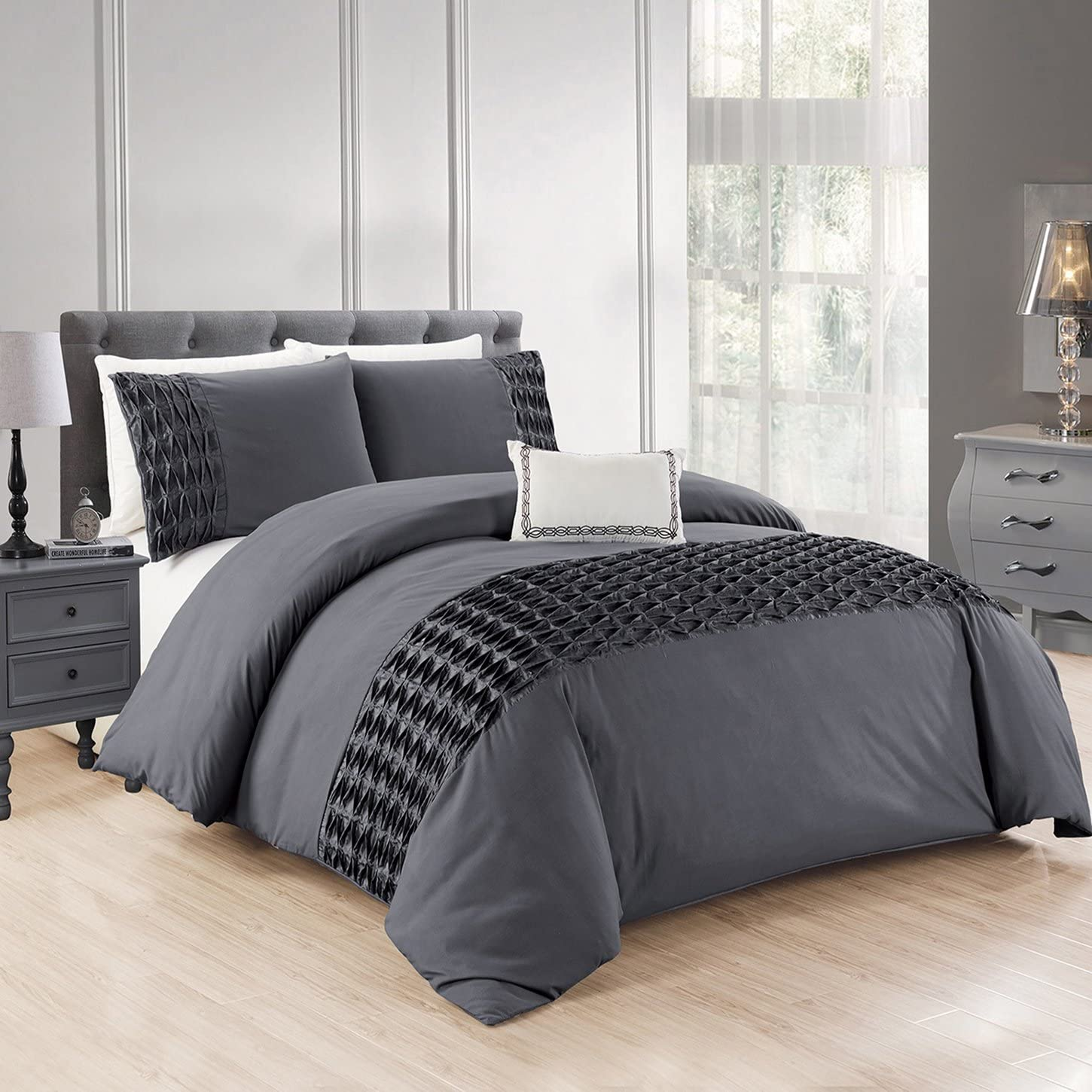 NEW Duvet Cover with Pillow Case Bedding Set Single Double King SKing LYNDA Sale