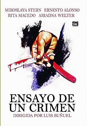 Resultado de imagen para ensayo de un crimen poster