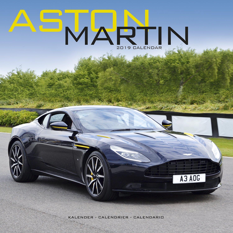 Aston Martin Calendar - Calendars 2018 - 2019 Wall Calendars - Car Calendars - James Bond - Aston Martin 16 Month Wall Calendar by Avonside