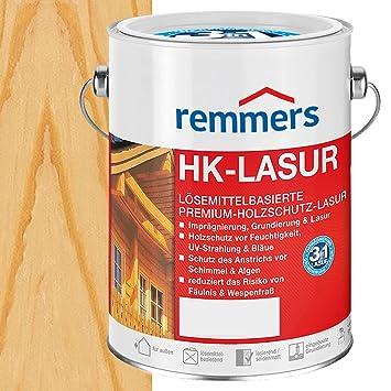 Remmers Hk Lasur Holzschutzlasur 5l Farblos Amazon De Baumarkt