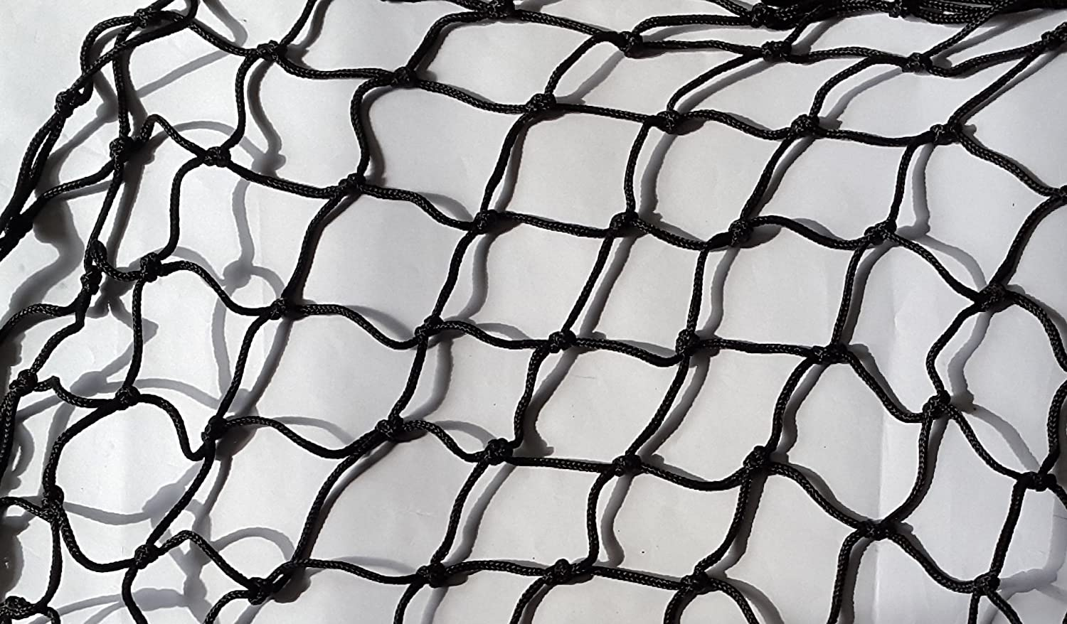 70x70mm 4mm Braided String Netting Pool/Pond/Cargo Cover 1mx1m Black HOMEHOBBY
