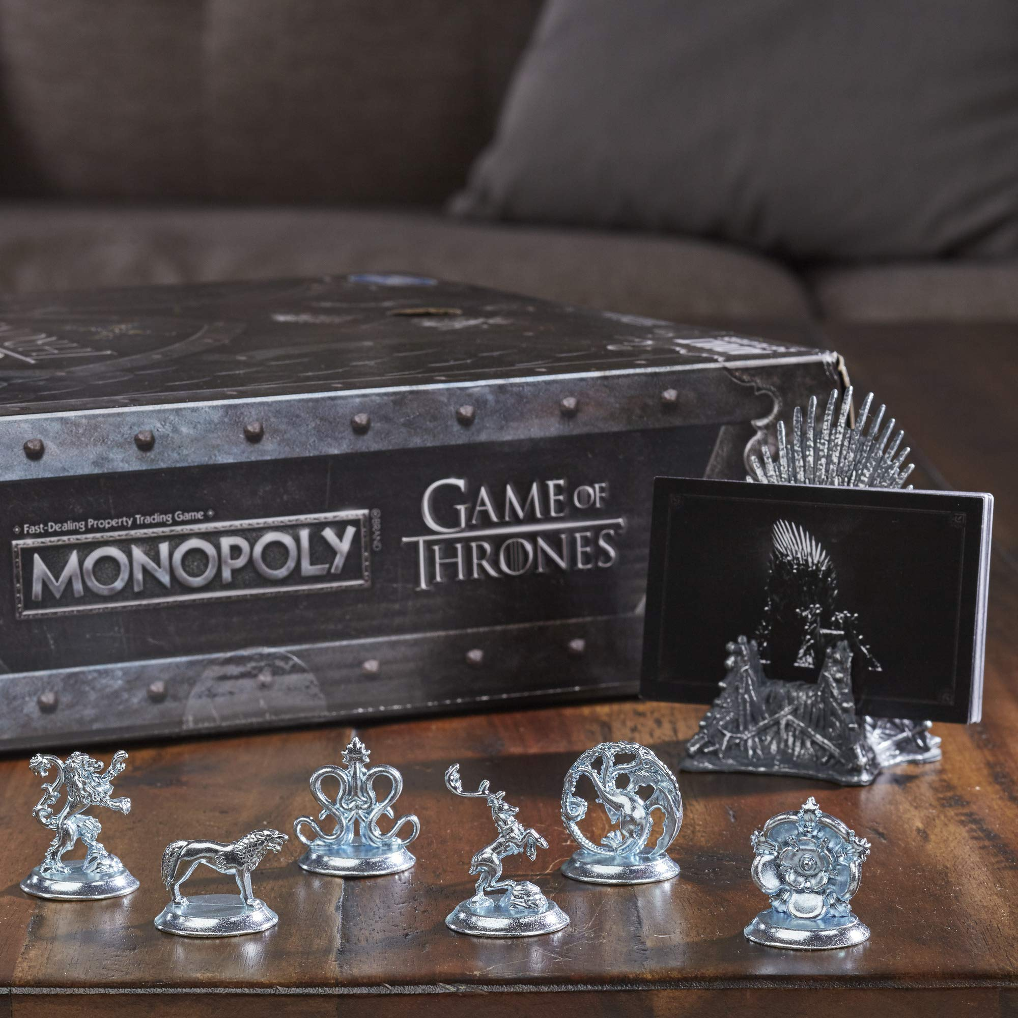 Monopoly Game of Thrones Board Game for Adults by Monopoly (Image #9)