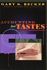 Accounting for Tastes Paperback