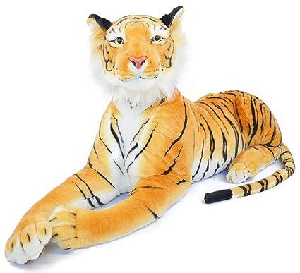 Amazon Com Viahart Rohit The Orange Bengal Tiger 4 Foot Long