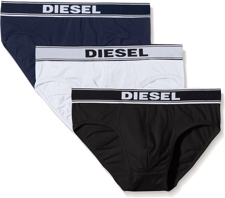Diesel UMBR-ANDRETHREEPACK, Calzoncillo para Hombre, Pack de 3