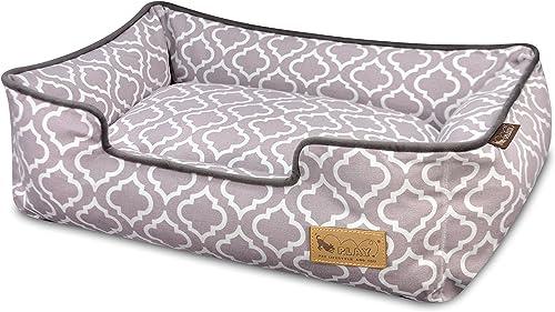 P.L.A.Y. Pet Lifestyle And You P.L.A.Y. – Moroccan Lounge Bed – Large – Ash