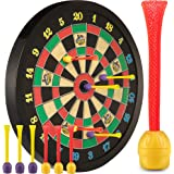 Doinkit Darts Kid-Safe Indoor Magnetic Dart Board - Easy to Hang, Fun to Play, Includes Board and 6 Unique Magnetic Darts