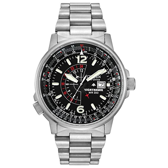 Amazon.com: Citizen Eco-Drive Promaster Nighthawk - Reloj de ...