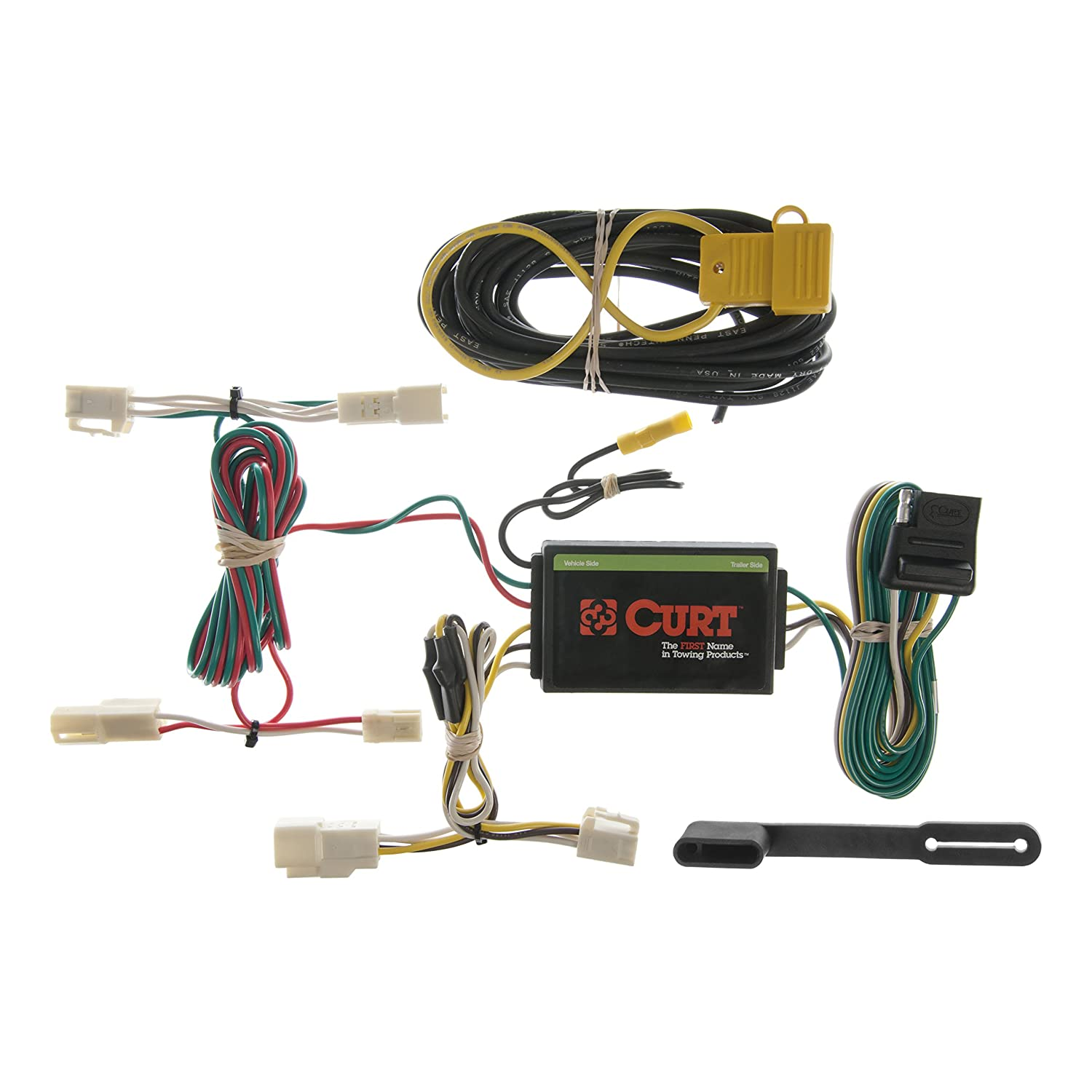 Amazon.com: CURT Class 3 Trailer Hitch Bundle with Wiring for 2010 ...