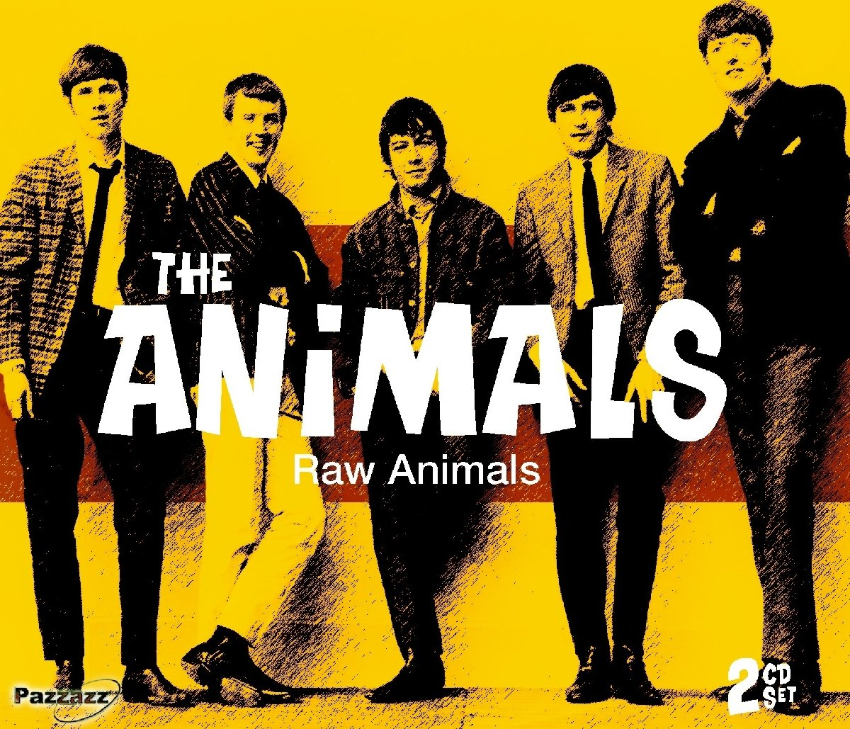 CD : The Animals - Raw Animals (2 Disc)
