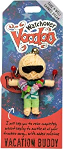 History & Heraldry Ltd Watchover Voodoo Dolls - Vacation Buddy, Multi Colored