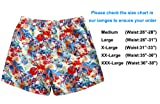 WUAMBO Men's Athletic Swimwear Quick Dry Shorts