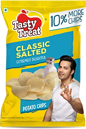 Tasty Treat Classic Salted Potato Chips 55G