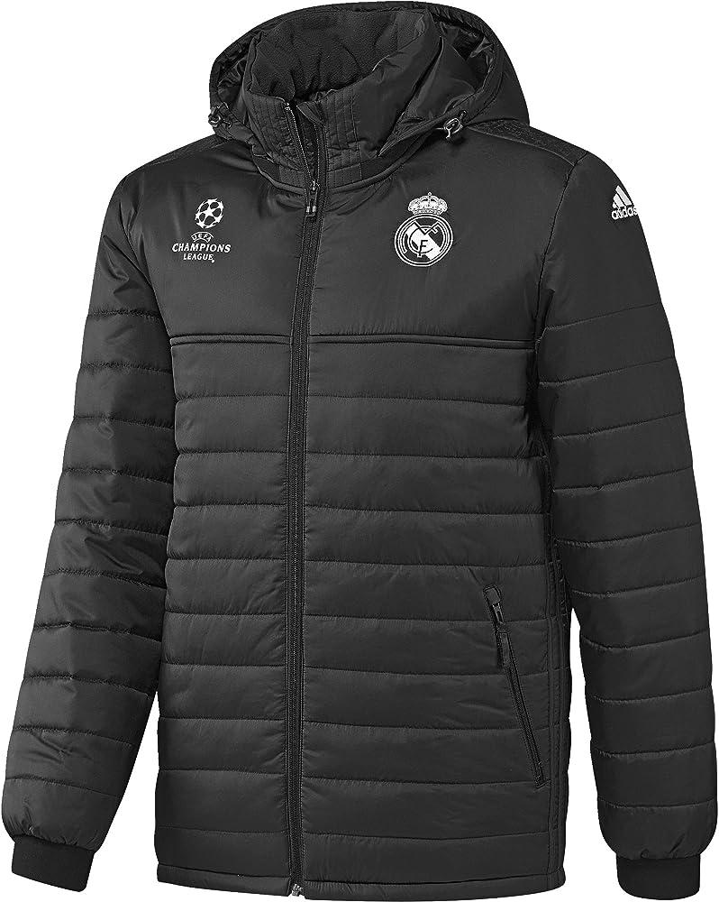 adidas Real Madrid C.F. EU ALLW JK Chaqueta, Hombre, Gris (Carbon ...