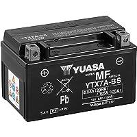Yuasa Batería YTX7A-BS AGM Abierto - con Paquete de Ácido, Talla Única